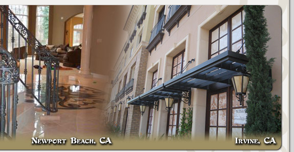 Mission Viejo Ornamental Iron Designs in Newport Beach, Irvine, Anaheim Hills, Portola Hills, Dove Canyon, Rancho Santa Margarita, Custom Residential & Commercial Ornamental Iron Designs